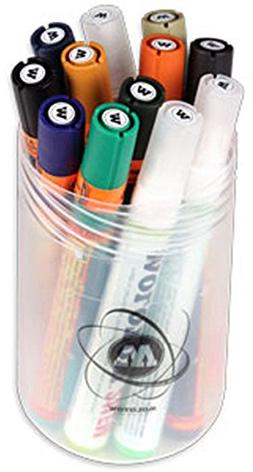 Molotow ONE4ALL Acrylic Paint Marker Set 2, 4mm, Assorted Co
