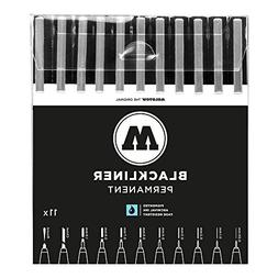 Molotow One4All Blackliner Complete 11 Piece Set