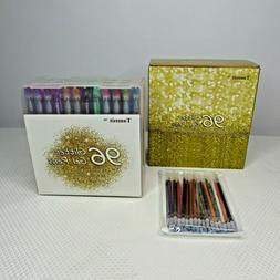 OpenBox Tanmit Glitter Gel Pens, 96 Gel Color Glitter Pens S