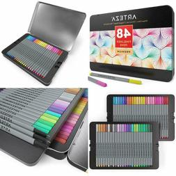 Paint Marker Pen Fine Point 48 Assorted Colors for Kids and