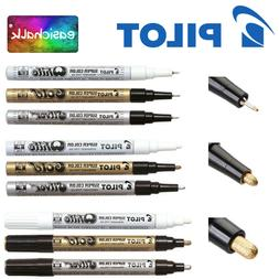 Pilot Paint Marker Pen White, Gold & Silver. Extra Fine, Fin