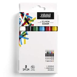Liquitex 6 x 2mm 6-Piece Professional Paint Marker Set FREE