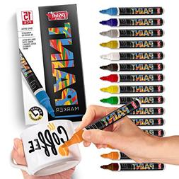 PaintMark Quick-Dry Paint Pens - Write On Anything! Rock, Wo
