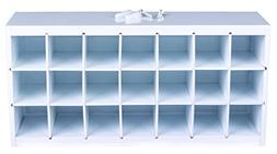 Paint Storage Tray - White Wood, ArtBin 6828AG