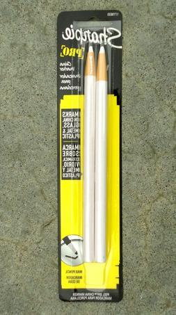 Pair of Sharpie #1779835, White China Markers.