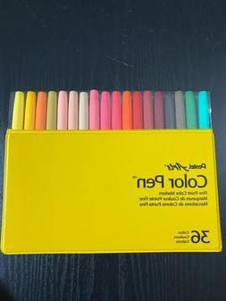 Pentel Color Pen, Set of 36, Assorted