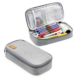 Pencil Pouch | Big Capacity Pencil Stationary Case | Gray St