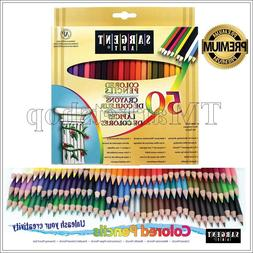 Sargent Art Colored Pencils Wooden Sketch Artist Drawing Set