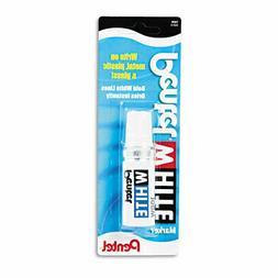 Permanent Marker  Broad Tip  White