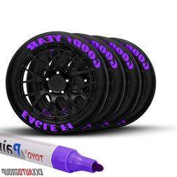 Tire Ink Permanent Marker Tyre Lettering Paint Pen USA Selle