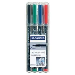 Staedtler Permanent Markers , Pack of 4 pens