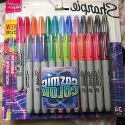 Sharpie Permanent Markers, Fine Point, Cosmic Color, Limited
