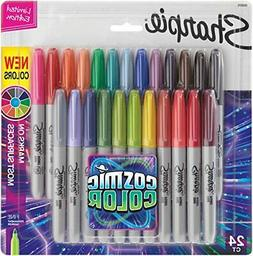 Sharpie Permanent Markers Fine Point Cosmic Color Limited Ed