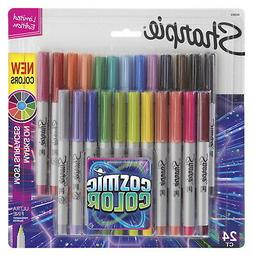 Sharpie Permanent Markers, Ultra Fine Point, Cosmic Color, L