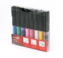 Permanent Paint Pens for Glass painting, ceramic, rocks, por