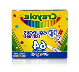 Crayola Pip-Squeaks Skinnies Washable Markers