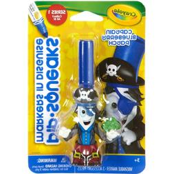 Crayola 58-8724 Pipsqueaks Markers in Disguise, Captain Blue