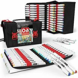 ARTEZA EverBlend Art Markers - Set of 60