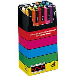 Uni-posca Paint Marker Pen - Fine Point - Set of 15