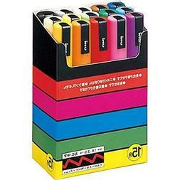 UNI POSCA Paint Marker Pen Medium Point PC-5M 1.8-2.5mm Set