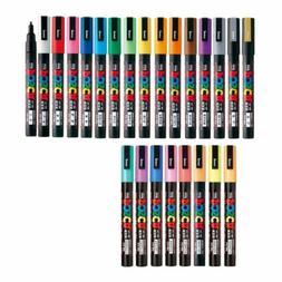 Uni Posca Paint Marker FULL RANGE Bundle Set , Mitsubishi Po
