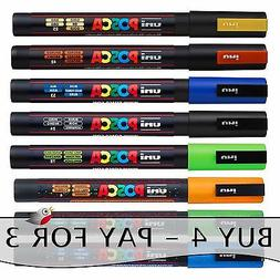 POSCA PC-3M MARKER by Uniball - - BUY 4, ONLY PAY FOR 3