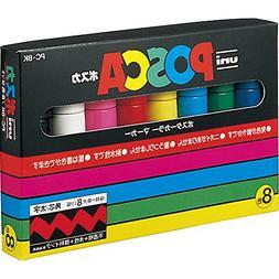 Uni-posca Pc8k8c Paint Marker Pen Bold Point Set of 8