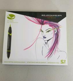 Prismacolor Premier Double Ended Art Markers Brush Tip & Fin