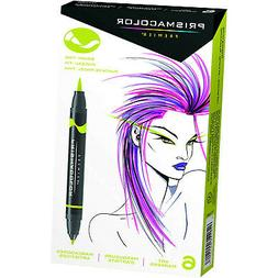 Prismacolor 1773104 Premier Double-Ended Art Markers, Fine a