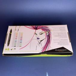 Prismacolor 1773301 Premier Double-Ended Art Markers, Fine a