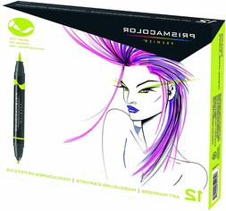 Prismacolor 1773297 Premier Double-Ended Art Markers, Fine a