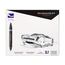 Premier Art Marker Set Color: Cool Grey