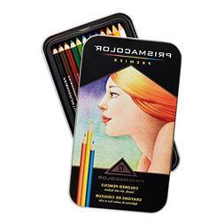 Prismacolor 3596T  Premier Colored Pencils, Soft Core, 12 Co