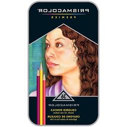 Prismacolor 36 Color Pencil Set in a Metal Tin Box