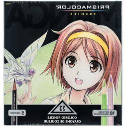 Prismacolor Premier Manga Illustration Markers, Assorted Tip