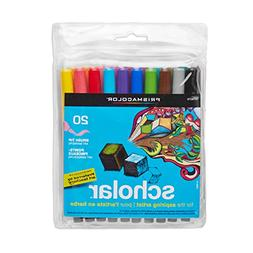 Prismacolor Scholar Art Marker - Brush Marker Point Style -