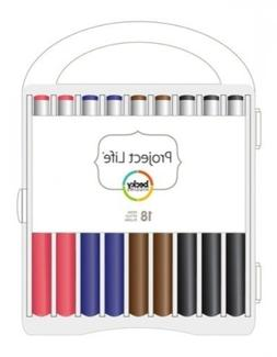 American Crafts Project Life Journaling Pen Set 18 Pack With