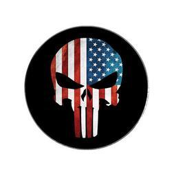 Punisher Marvel USA American Flag Golf Ball Marker Gift