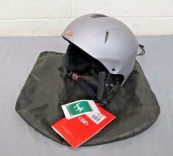 Marker Rattler Titanium Gray Ski/Snowboard Helmet Size Small