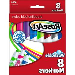RoseArt Broadline Bold Washable Markers