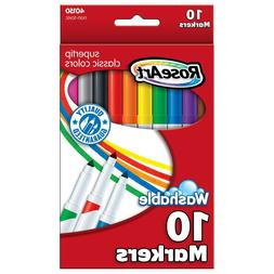 RoseArt Classic SuperTip Markers, 10-Count, Packaging May Va