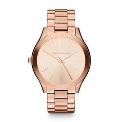 Michael Kors Women's Runway Rose Gold-Tone Watch MK3197