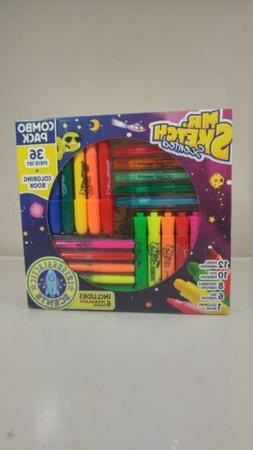 Mr. Sketch Scented Combo Pack, 36 count pack plus coloring b