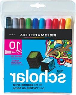 Prismacolor Scholar Markers 10/Pkg-Brush
