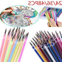 School Watercolor Brushes Drawing Refills Glitter Pen Marker