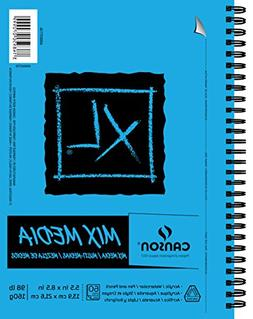 Canson XL Series Mix Media Paper Pad, Heavyweight, Fine Text