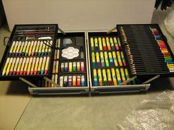 Art Set for Kids, 132 pc., w/paints, markers, colored pencil
