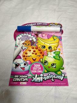 Bendon Shopkins Imagine Ink Activity Book with Marker Mess F