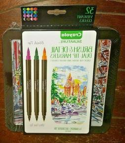 NEW Crayola Signature  Markers Dual-Tip 32ct