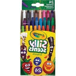 Crayola Silly Scents Twistables Crayons, 24 Classic Crayola